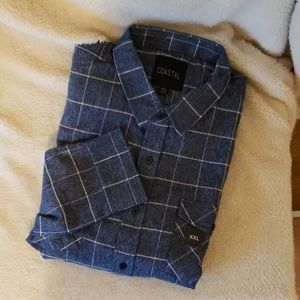 Men's Coastal L/S Flannel